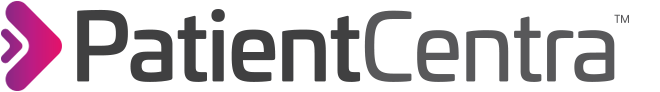 Patient Centra logo and link to homepage