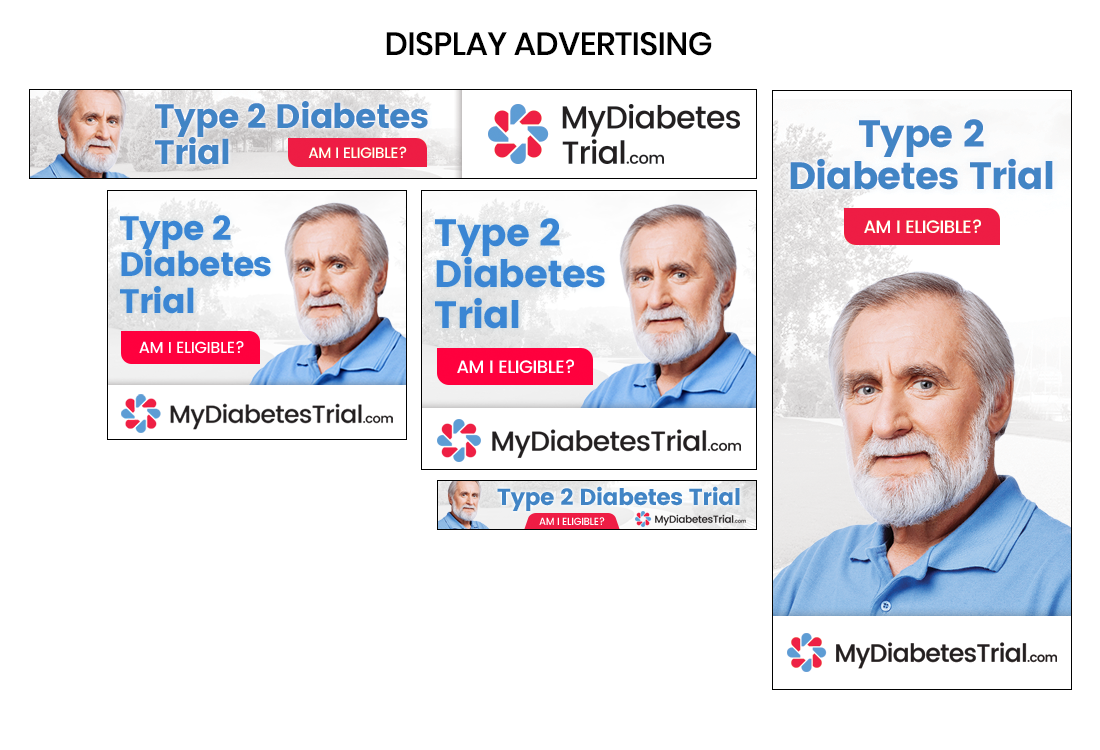 Display Advertising Creative, Global Clinical Trials, Type 2 Diabetes