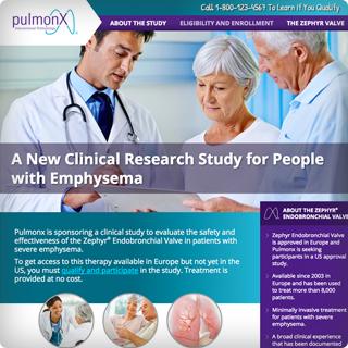 Emphysema Clinical Study